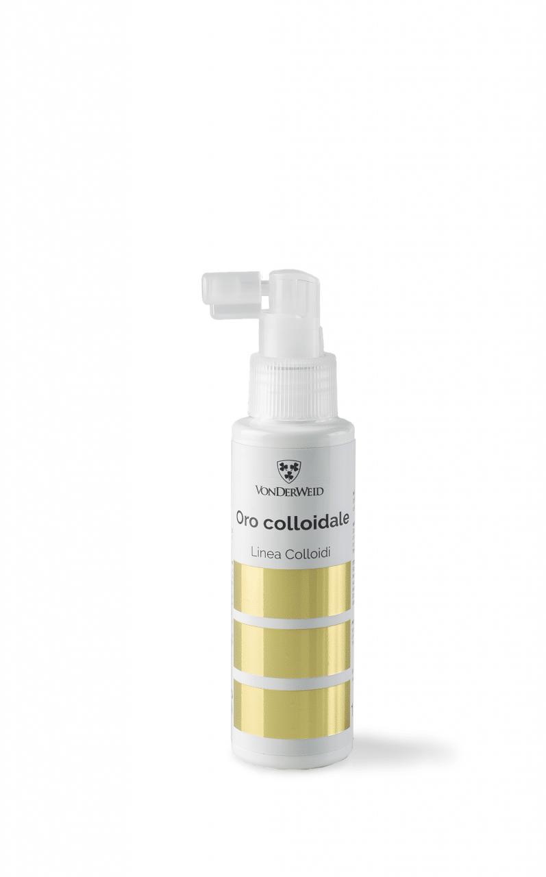 oro colloidale spray